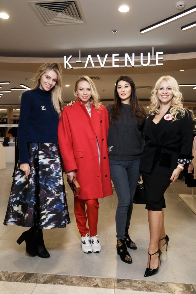 Ясмина Муратович, Анжелика Тиманина, Марина Ким и Екатерина Одинцова