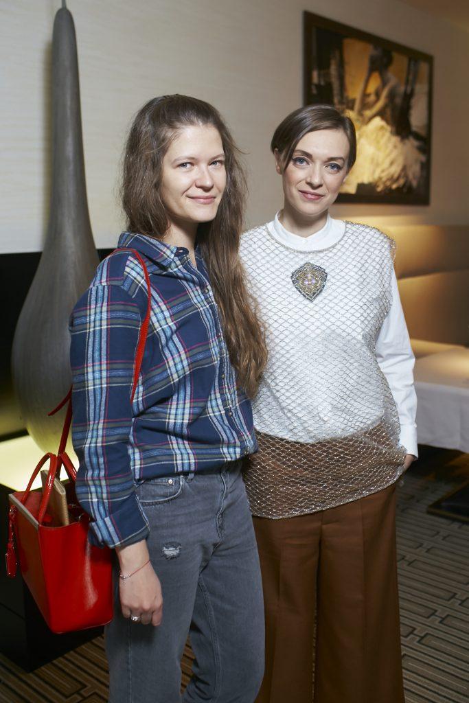 Алиса Жидкова и Вера Джусти