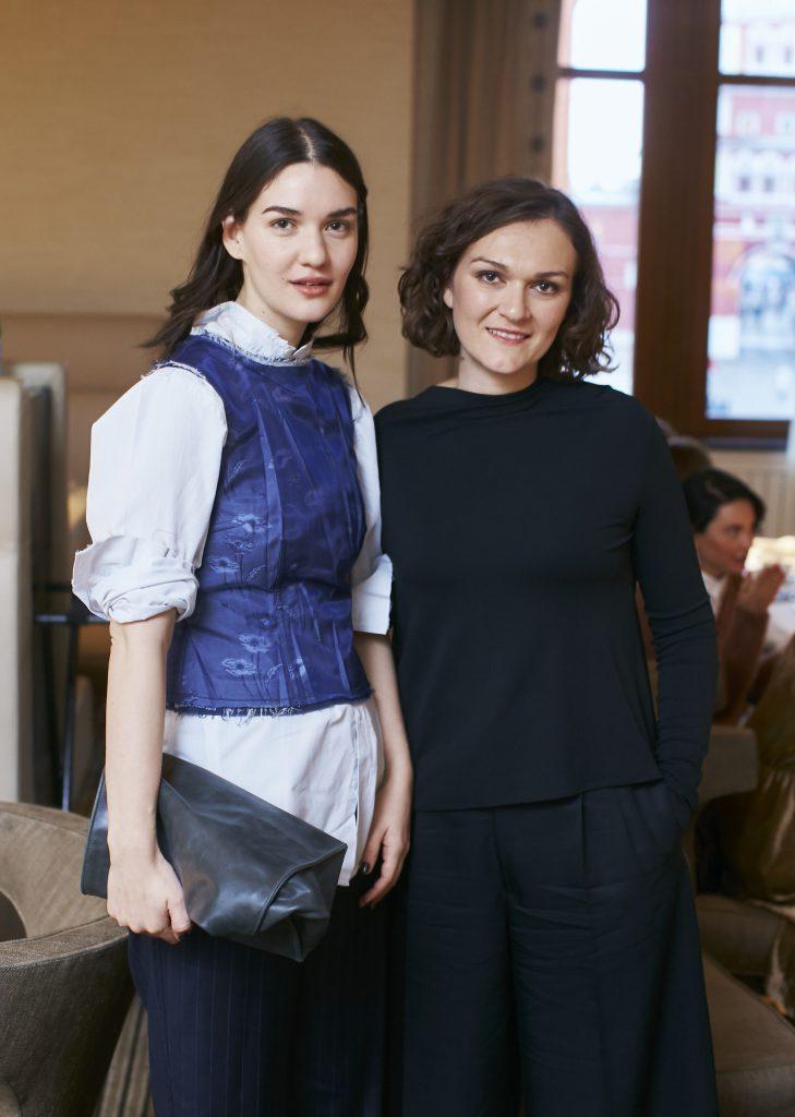 Мари Коберидзе и Марианна Джусти