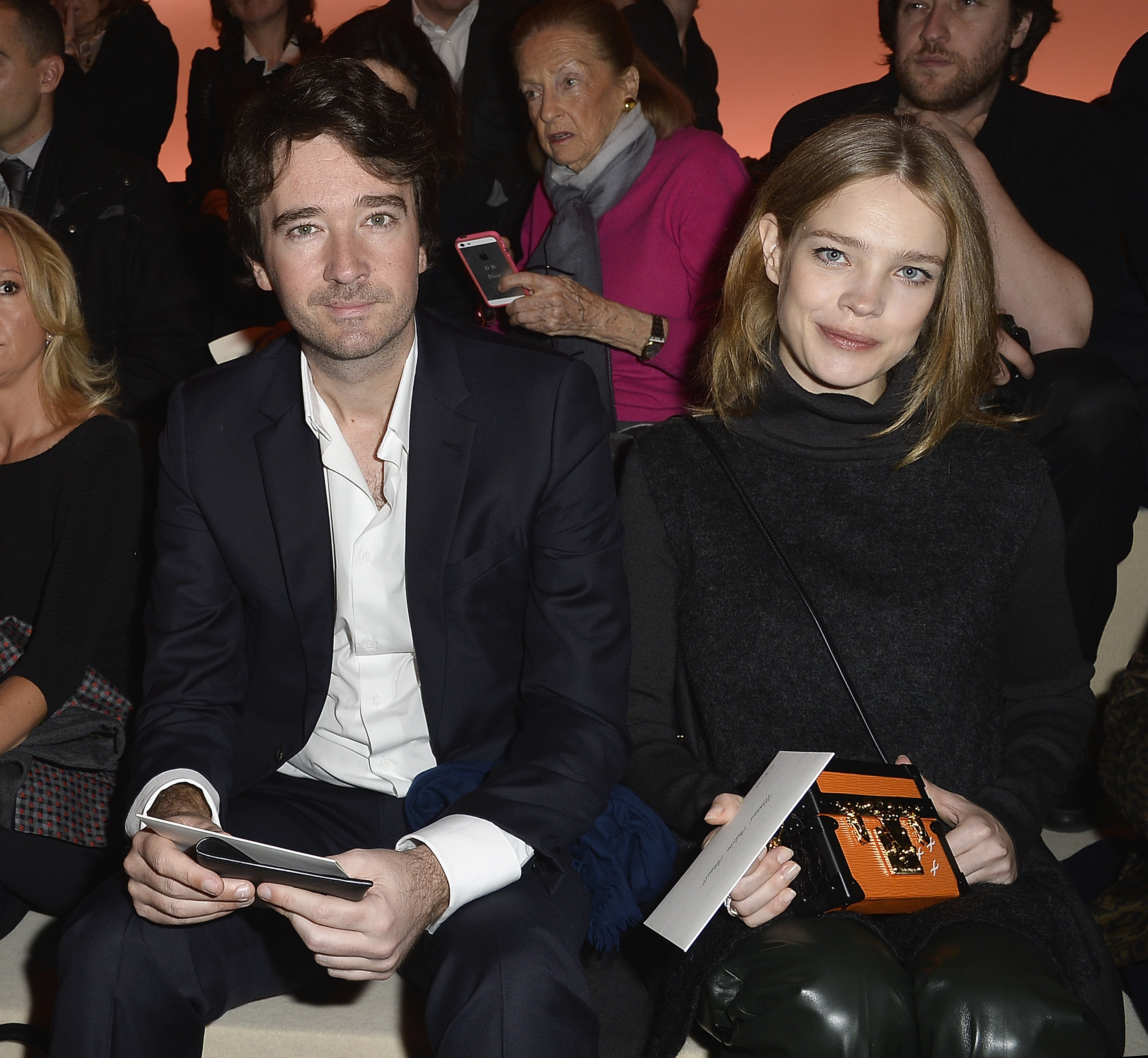 PARIS, FRANCE - MARCH 05:  Antoine Arnault and Natalia Vodianova attend the Louis Vuitton show as part of the Paris Fashion Week Womenswear Fall/Winter 2014-2015 on March 5, 2014 in Paris, France.  (Photo by Pascal Le Segretain/Getty Images)