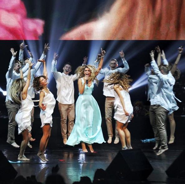 Вера Брежнева давала концерт в Питере