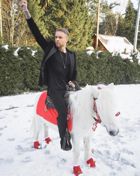 Егор Крид был на коне
