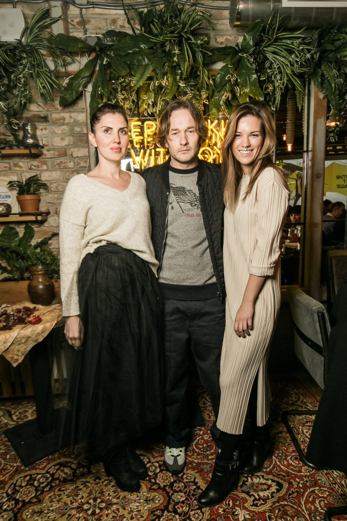 Ольга Пивень, Сева Щербаков и Ирина Ефимова