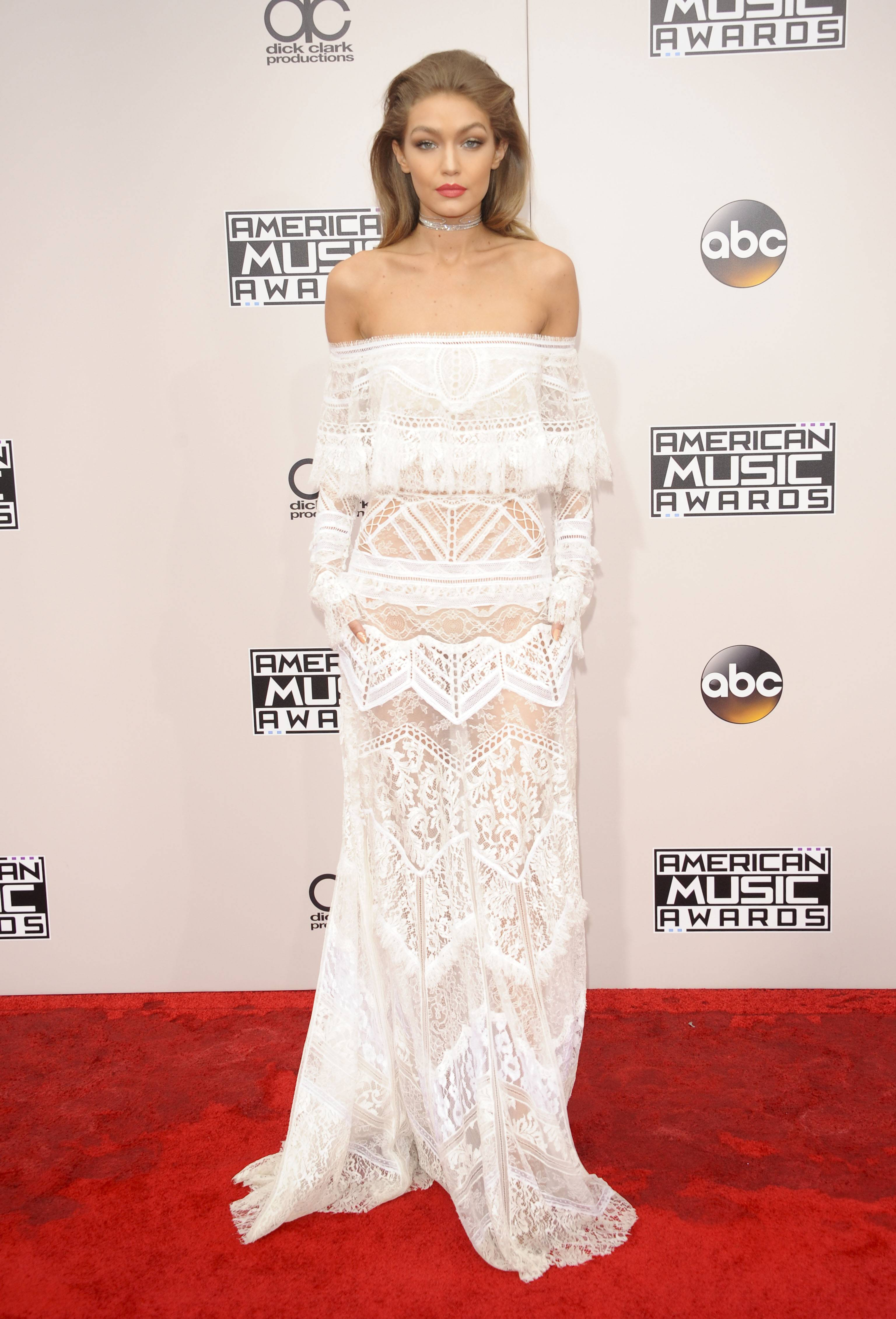 Gigi Hadid AMERICAN MUSIC AWARDS ARRIVALS Los Angeles Patrick Rideaux PicturePerfect