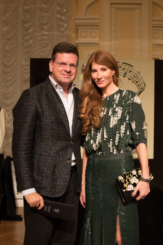 — Константин и Ольга Андрикопулос