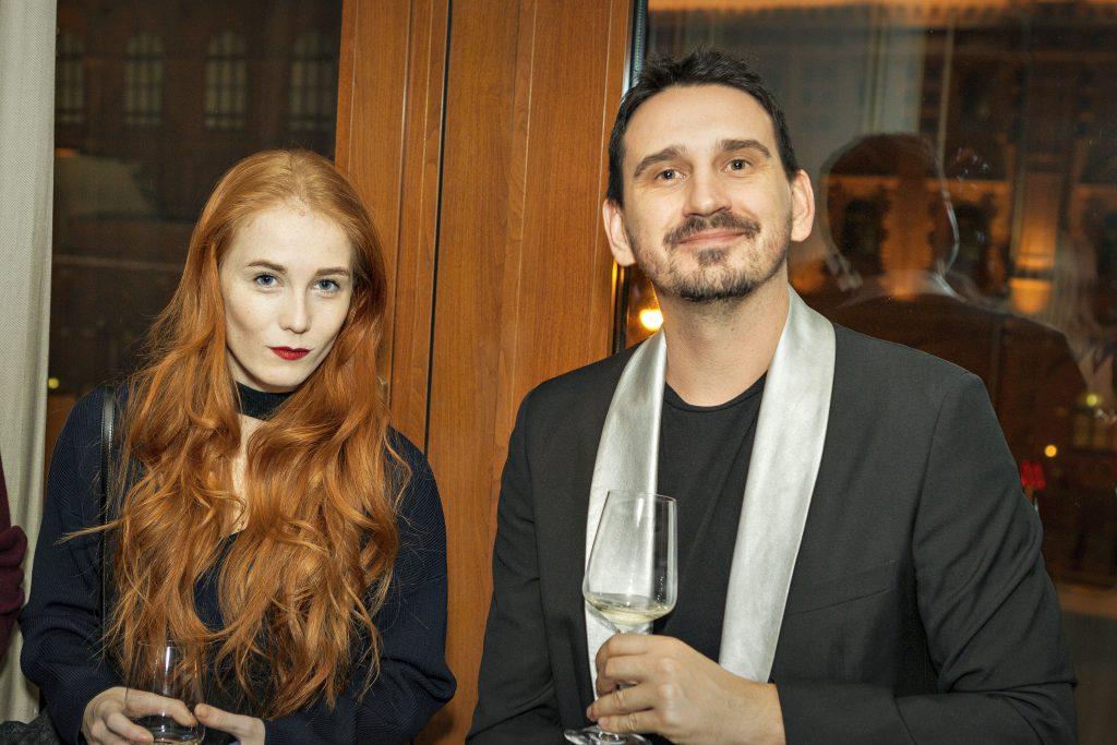 Александра Федорова и Артем Кривда
