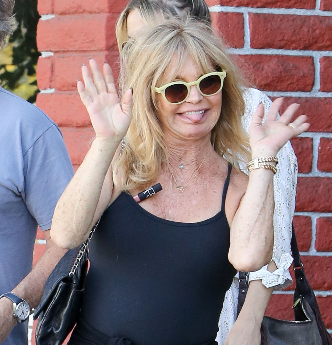 Goldie Hawn aging