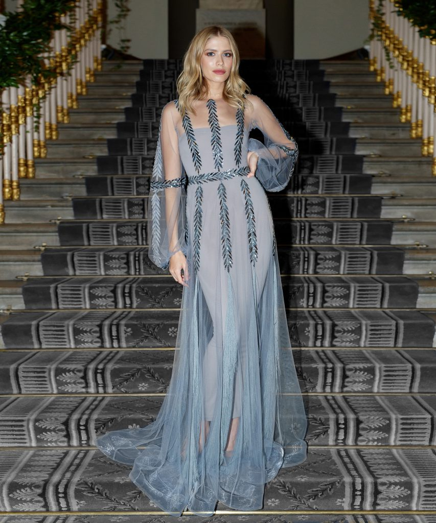 Елена Перминова в платье Yanina Couture