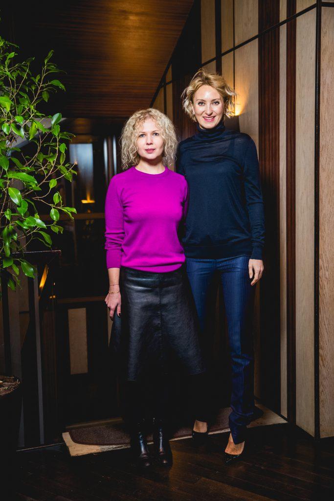 Галина Мазаева и Ирина Елизарова