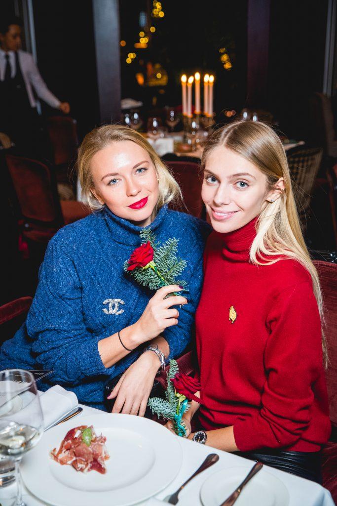 Анжелика Тиманина и Ясмина Муратович