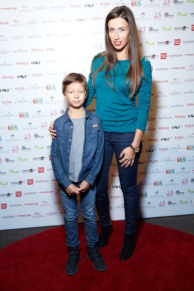 Екатерина Широкова с сыном