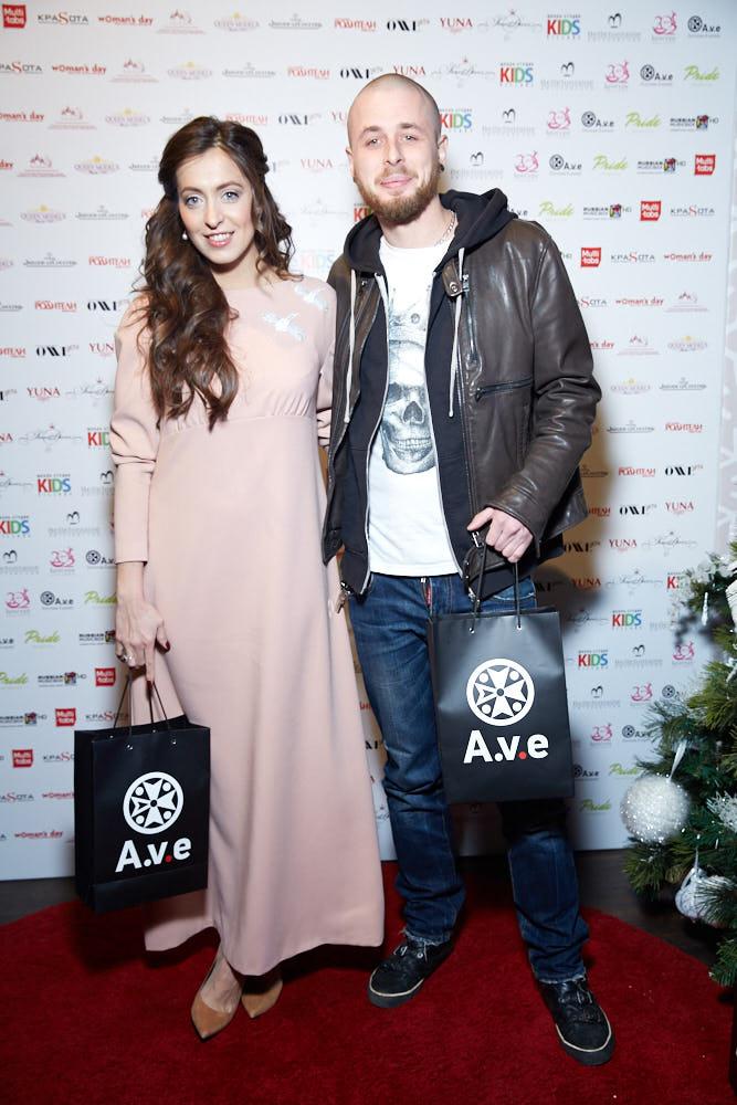 Анастасия Меськова с мужем