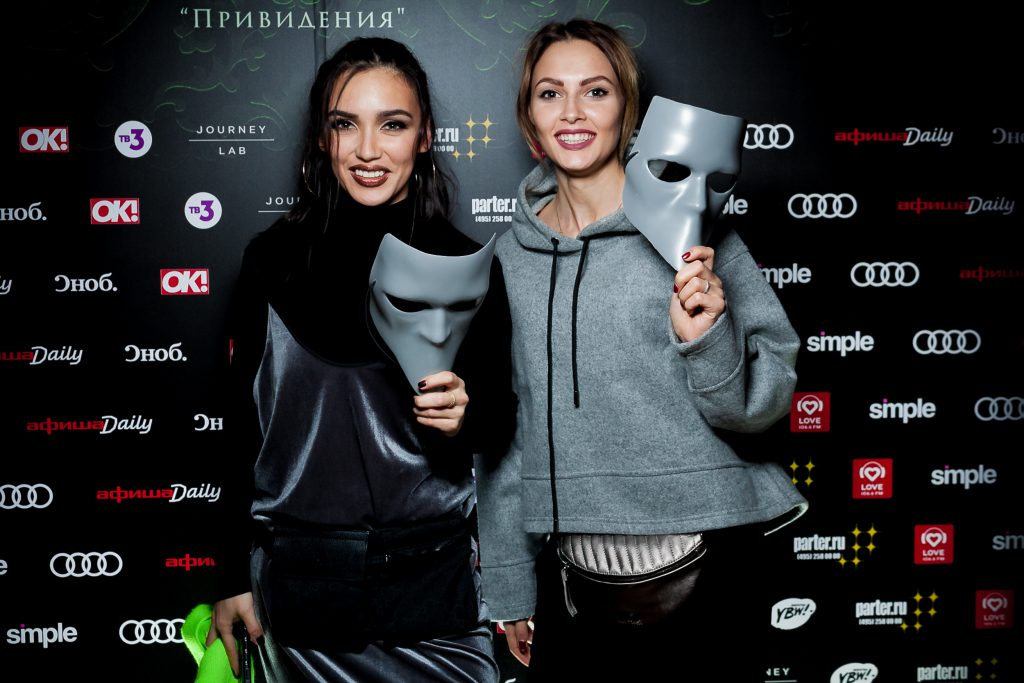 Ольга Серябкина и Полина Фаворская