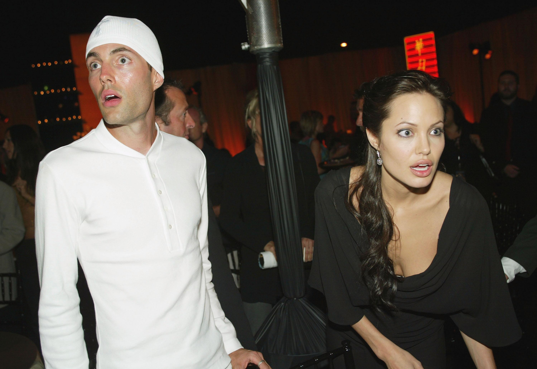 Анджелина Джоли с братом