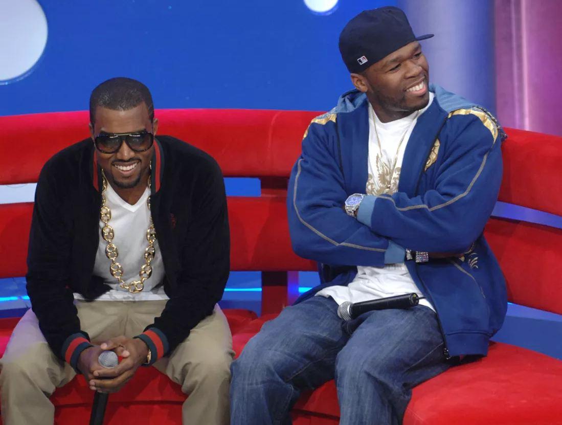 Канье Уэст и 50 Cent