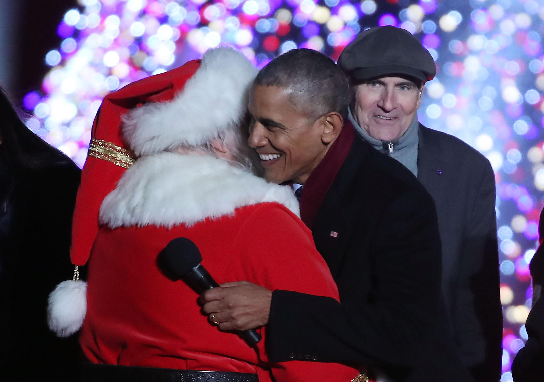 Обама и Санта