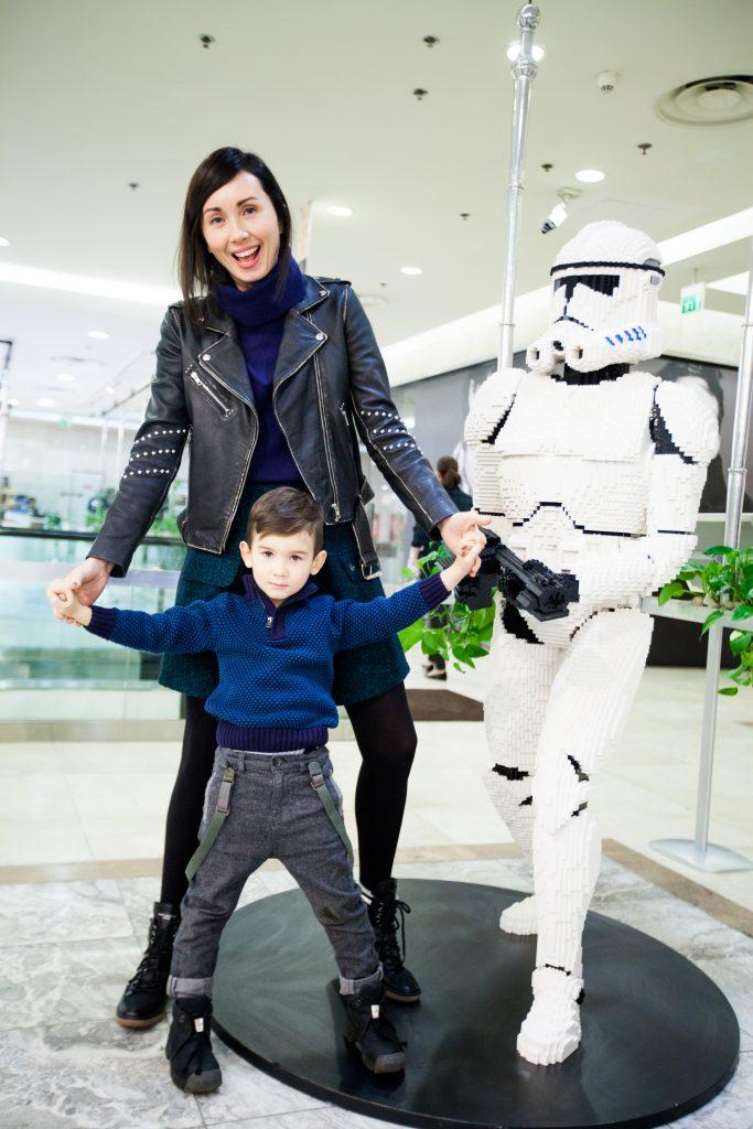 Мария Железнякова с сыном Сашей