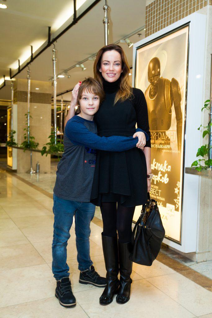 Ольга Зайцева с сыном Артемием