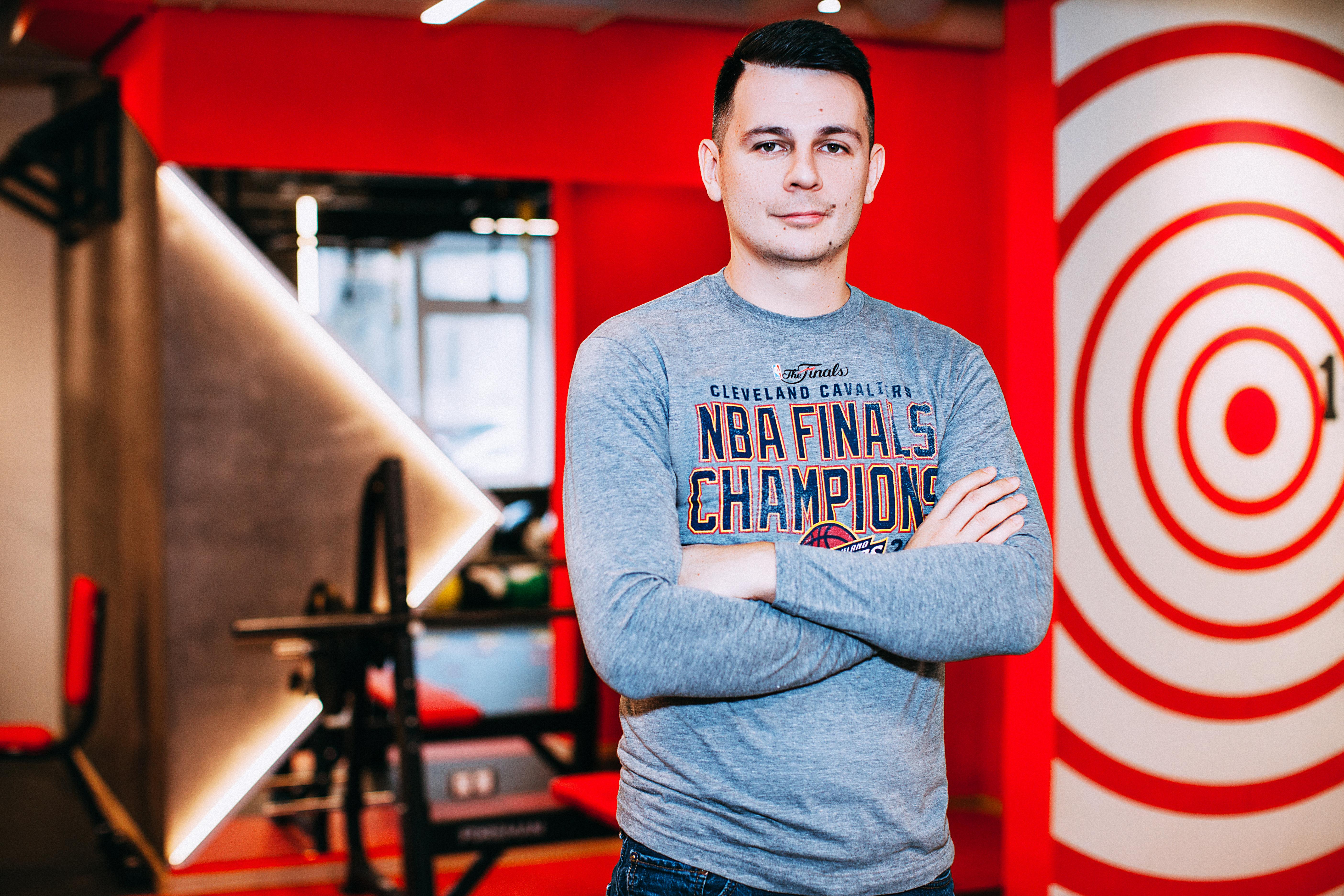 Андрей Дубровин, владелец студии Fitspace studio
