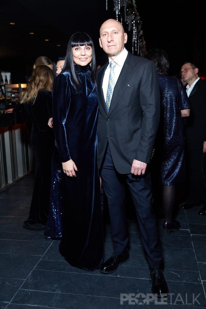 Лидия Александрова с мужем