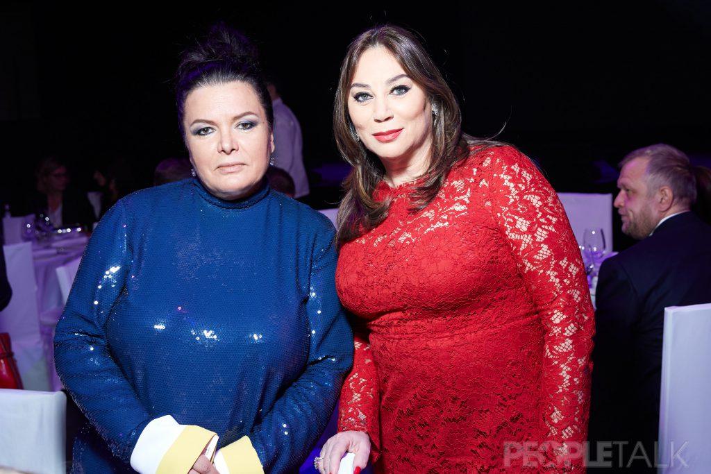 Марина Лебедева и Алла Вербер