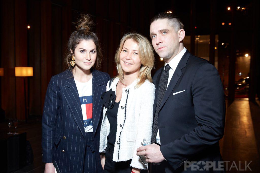 Лаура Джугелия, Екатерина Комолова и Алексей Киселев