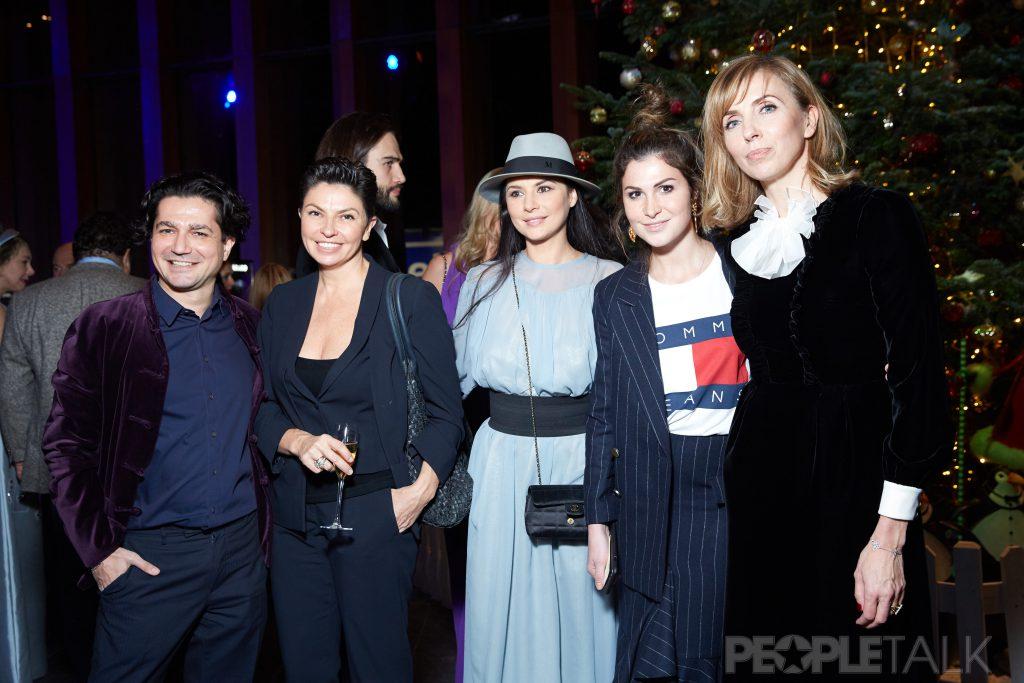 Алексей Боков, Наталья Синдеева, Фатима Ибрагимбекова, Лаура Джугелия и Светлана Бондарчук