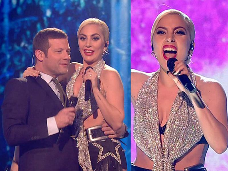 Леди Гага пластика носа