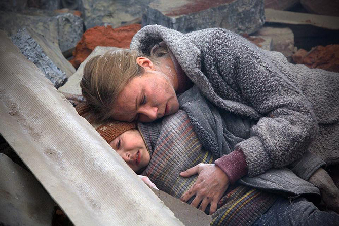 фильм Землетрясение премьера в России