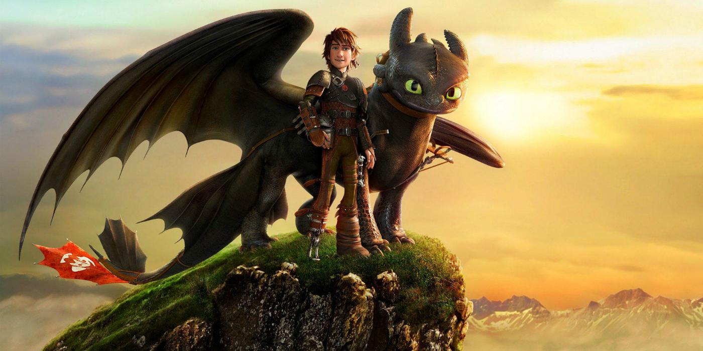 Как приручить дракона мультик