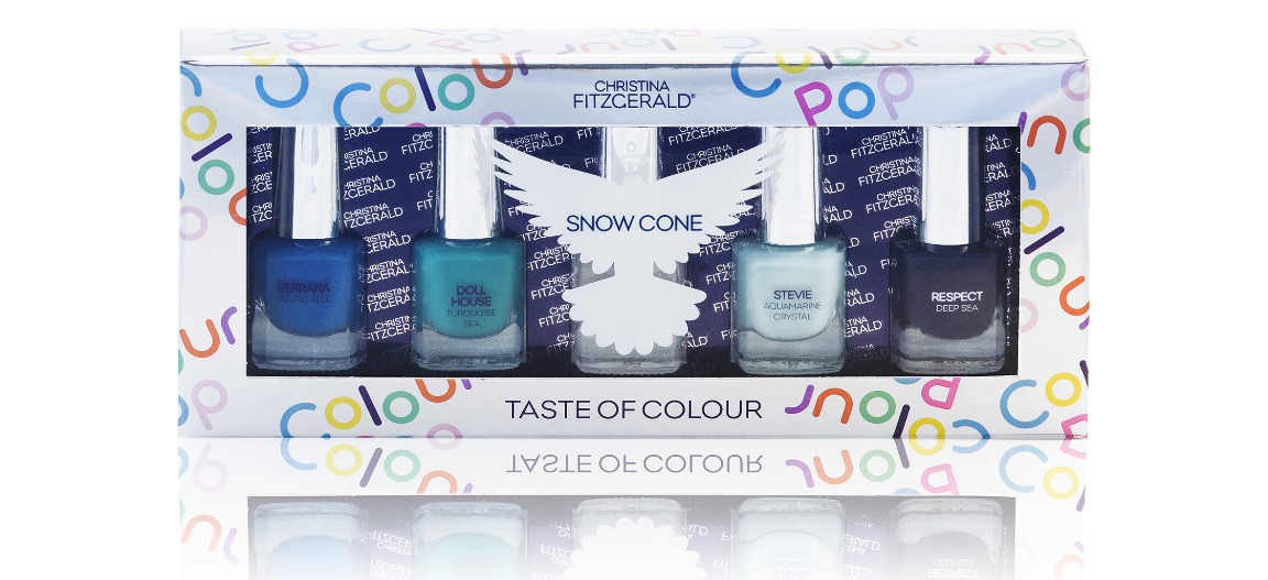 Christina Fitzgerald Snow Cone Nail Polish Set