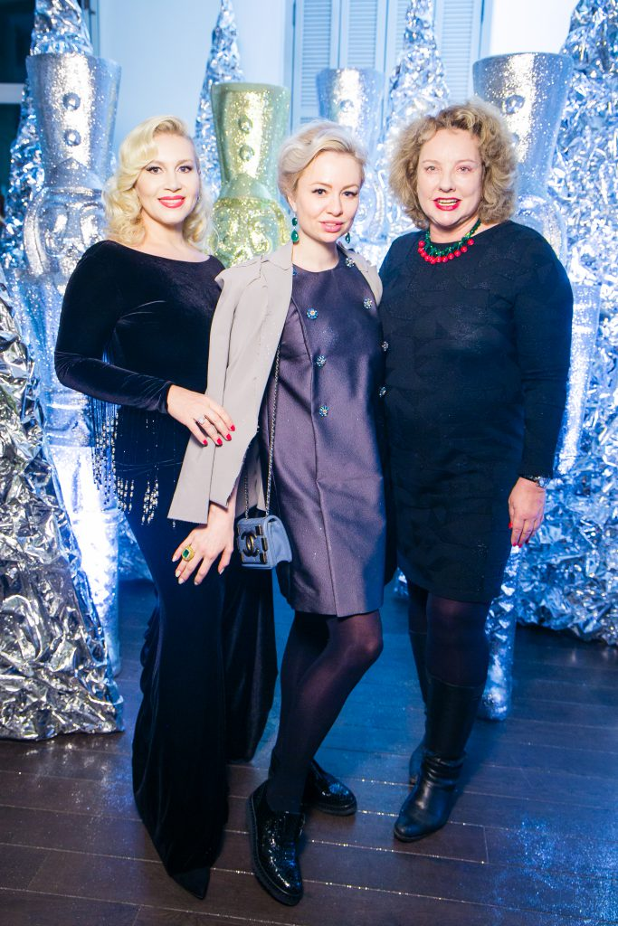Екатерина Одинцова, Анна Нерли и Регина Фон Флемминг