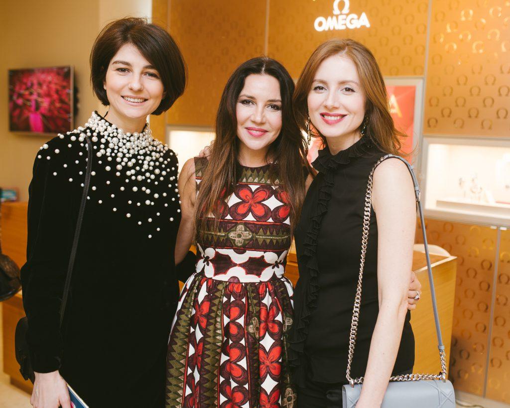Ольга Карпова, Ирина Чайковская и Александра Скамницкая