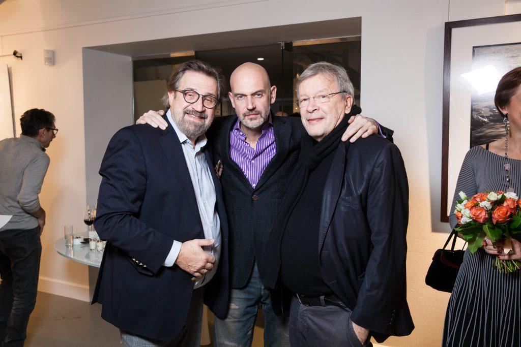 Александр Гафин, Антон Ланге и Виктор Ерофеев