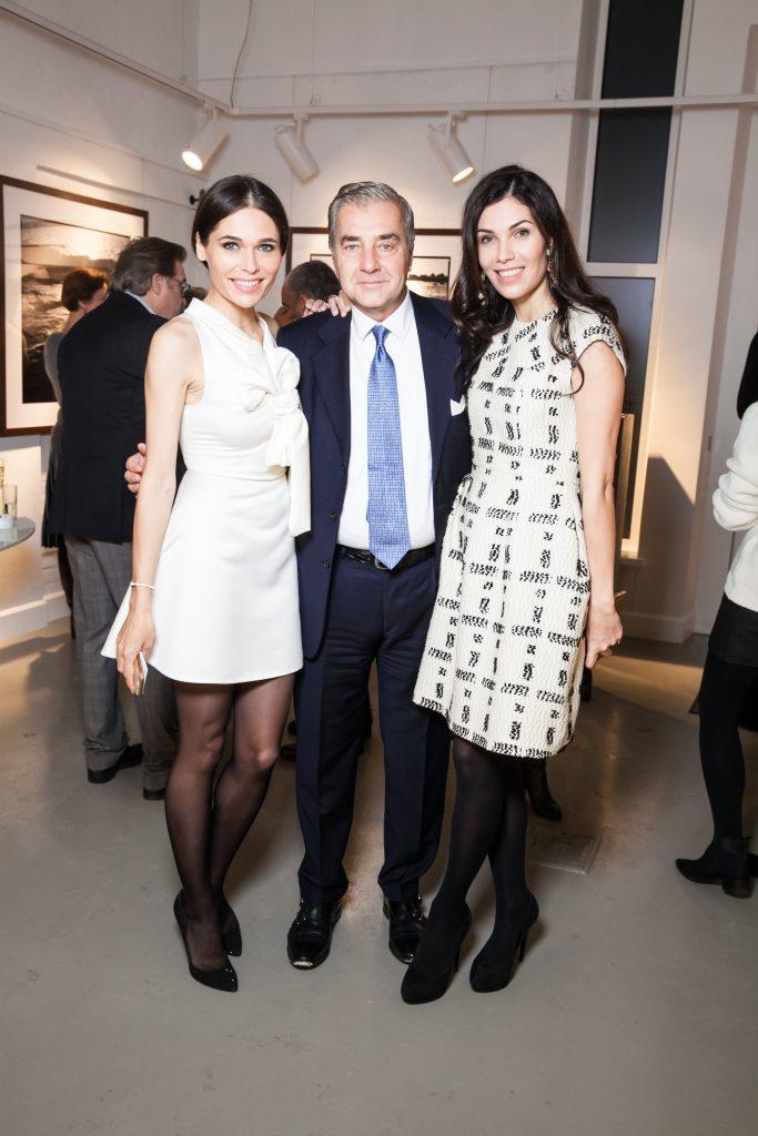 Полина Аскери,  Андреа Буччеллати и Ангелина Аскери