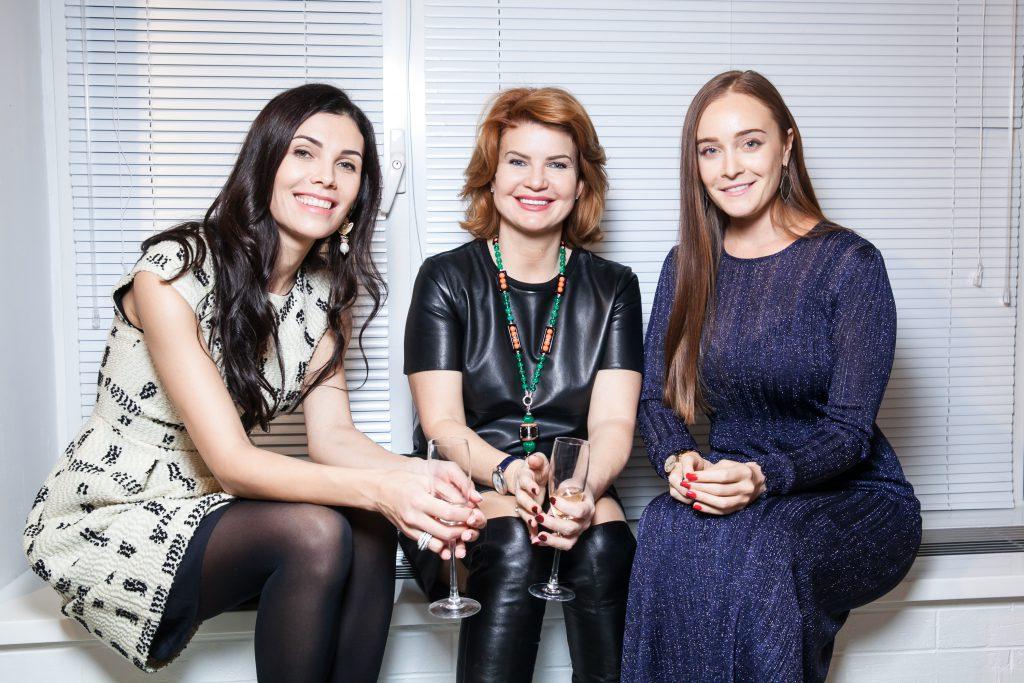 Ангелина Аскери, Татьяна Горшкова и Яна Светлова