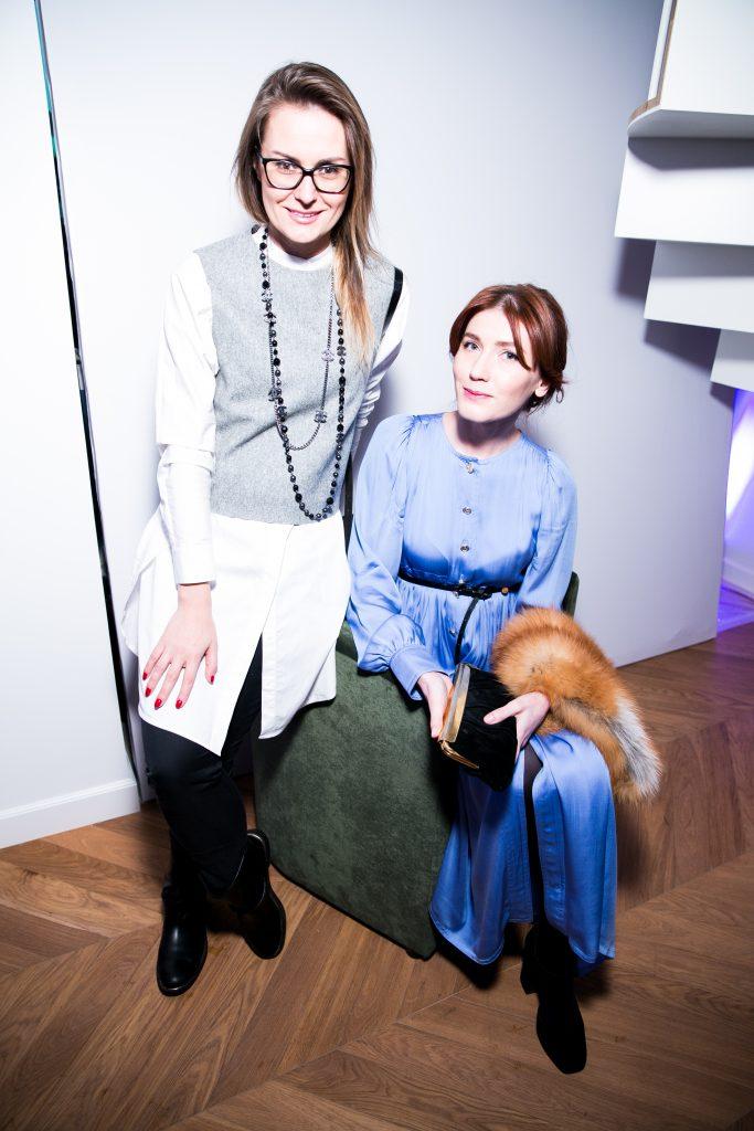 Елена Филипченкова и Ксения Сапунова