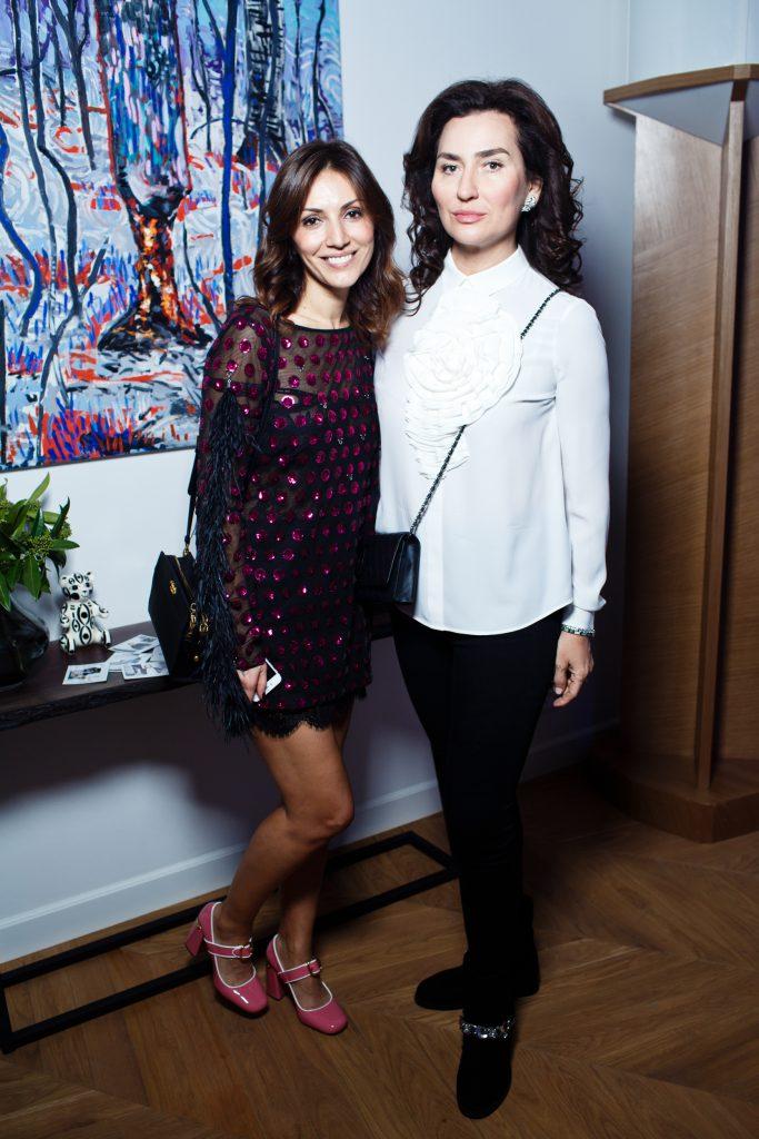 Карина Ошроева и Ксения Соколова