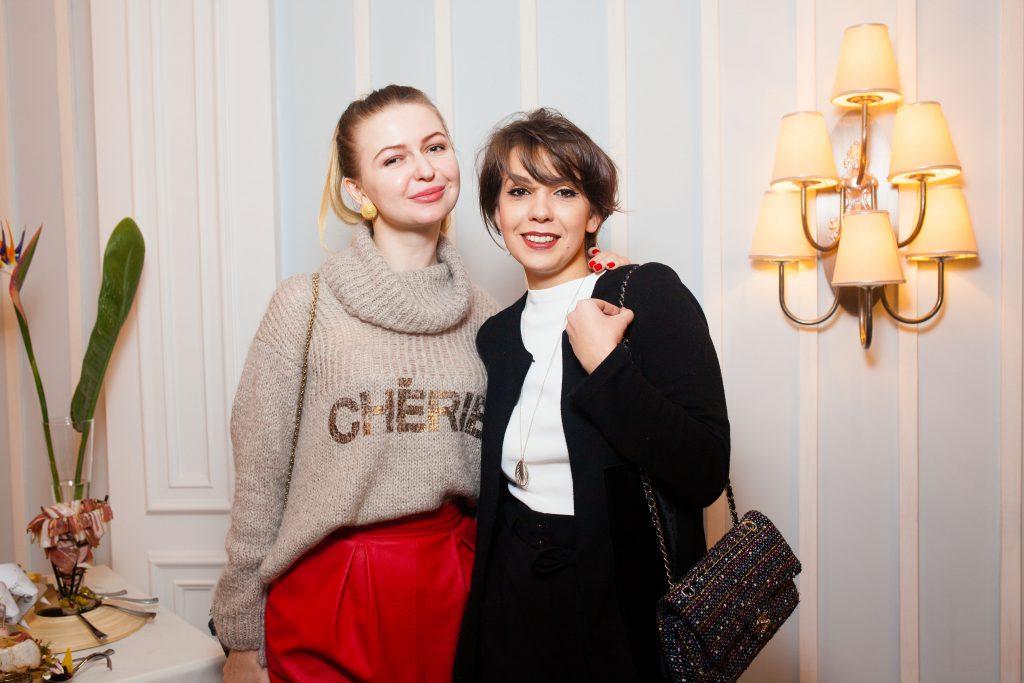 Алена Литковец и Елизавета Минаева