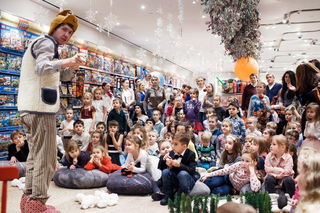 Детский Новый Год в ЦУМе