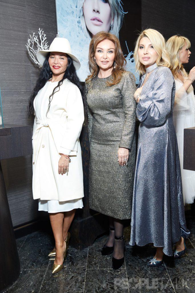 Миранда Мирианашвили, Елена Маликова и Светлана Шишханова
