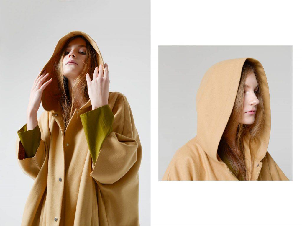 Блуза COS 2900 вместо 5600, пальто COS 9500 вместо 17 300