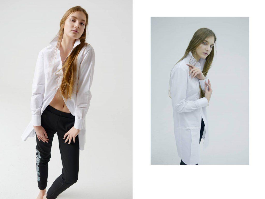 Рубашка Natasha Drigant 6 750 вместо 11 250, брюки Natasha Drigant 6 125 вместо 12 250