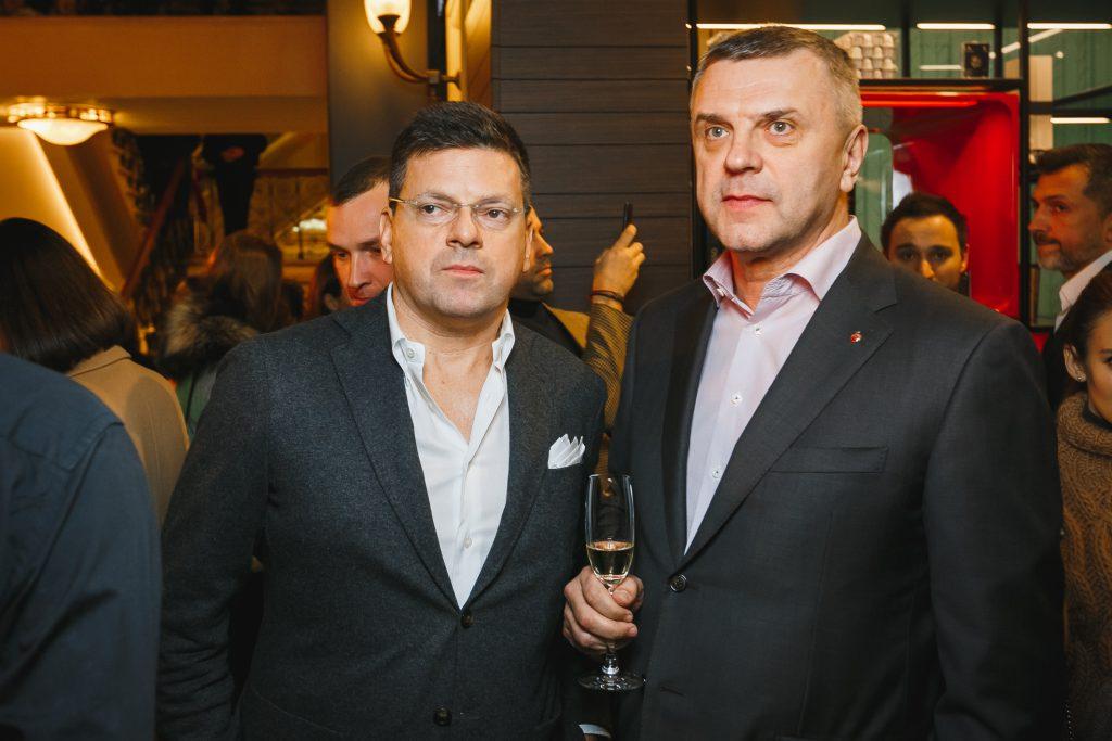 Константин Андрикопулос и Владимир Сергеев