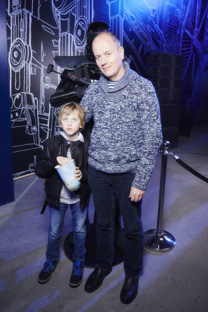Алексей Красовский с сыном