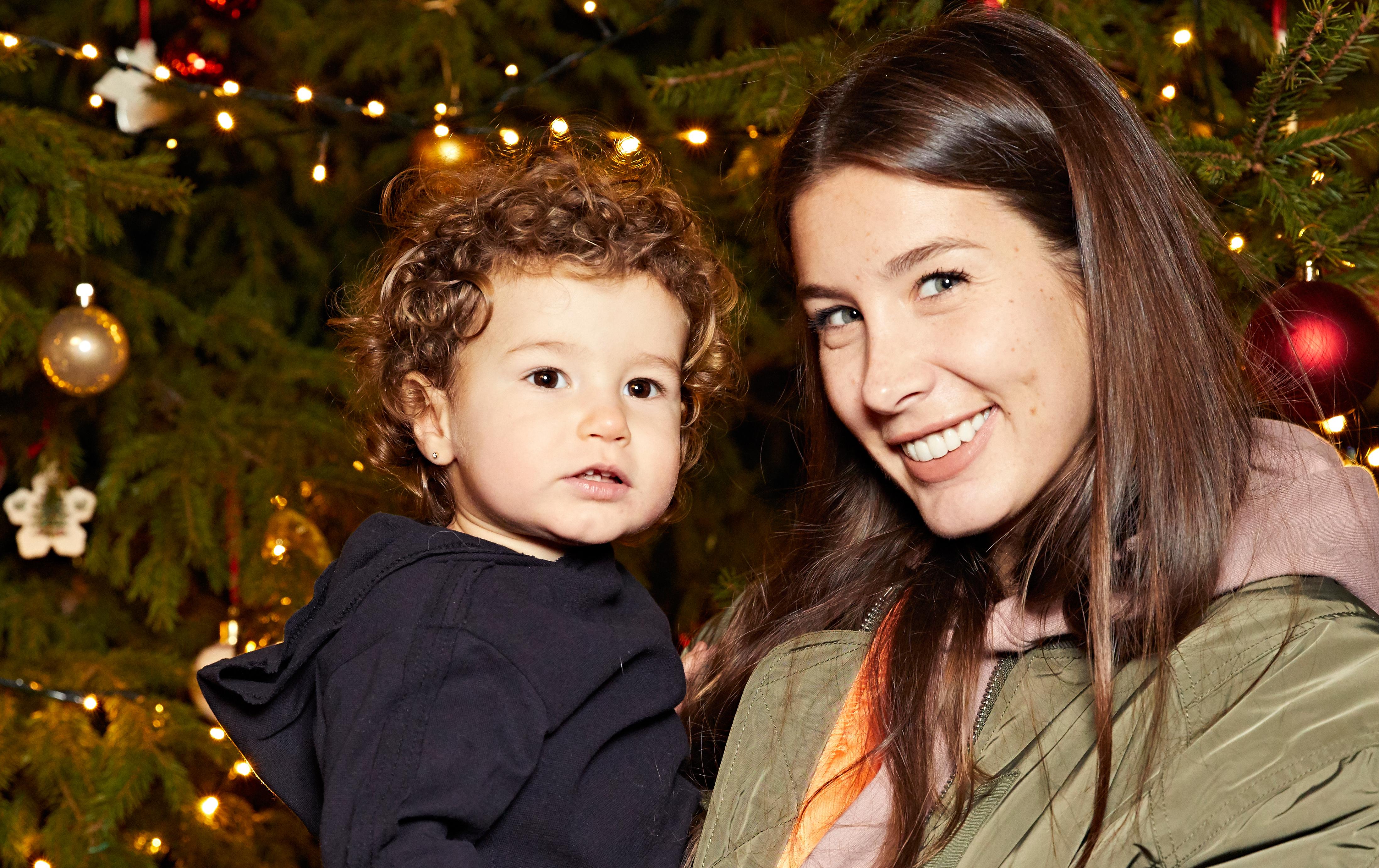 Кети Топурия с дочкой