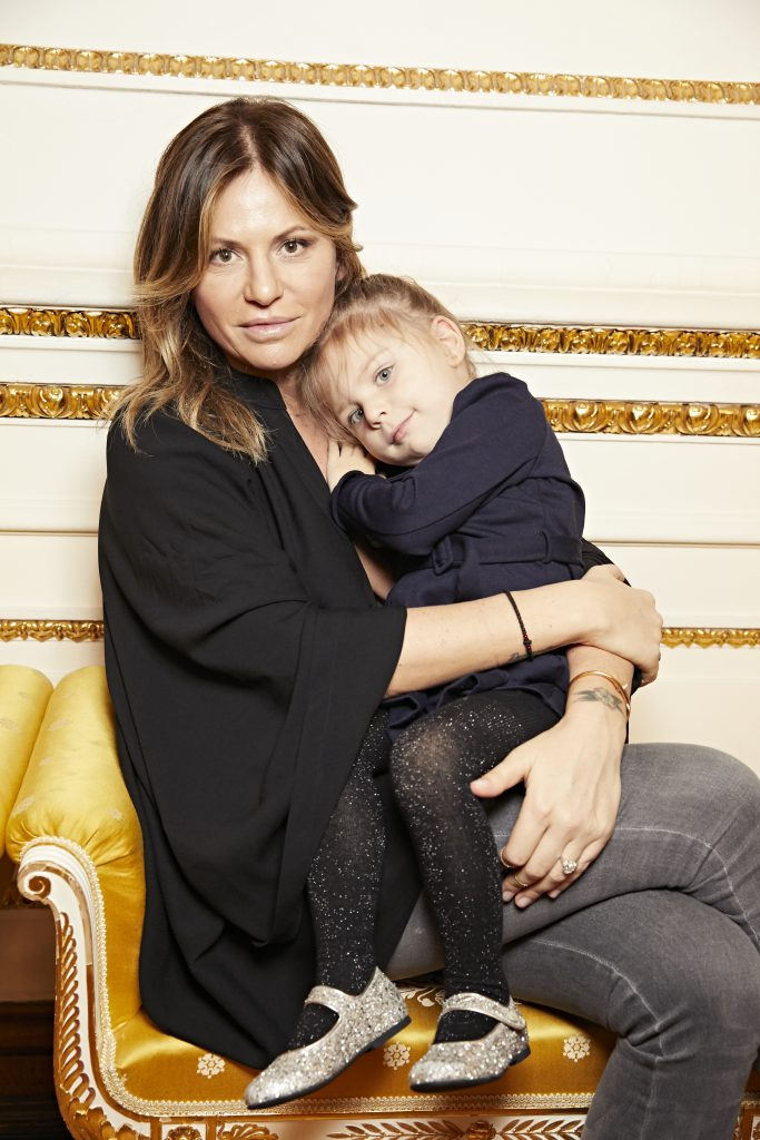 Алла Акперова с дочерью