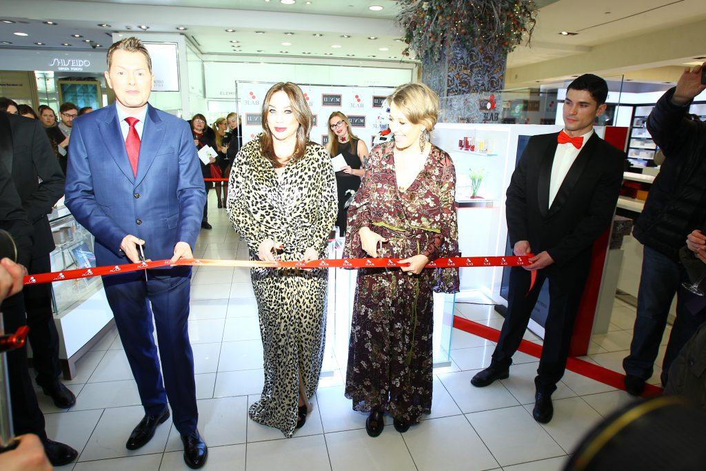 Игорь Яковлев, Алла Вербер и Ксения Собчак