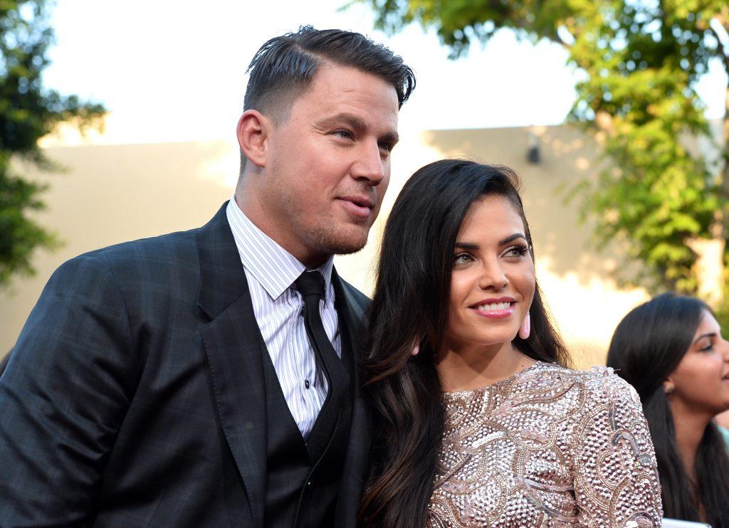 Ченнінг Татум з дружиною