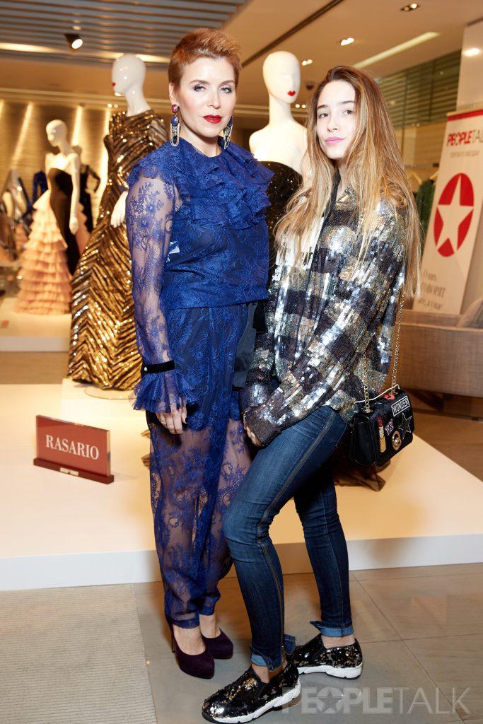Оксана Чумичева с дочерью